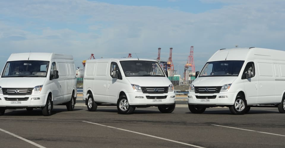 d5439a06ce3969 2015 LDV V80   Chinese van range relaunches from  29