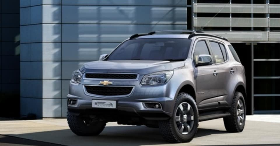 2012 Holden Colorado 7 First Look At New Ute Based Suv