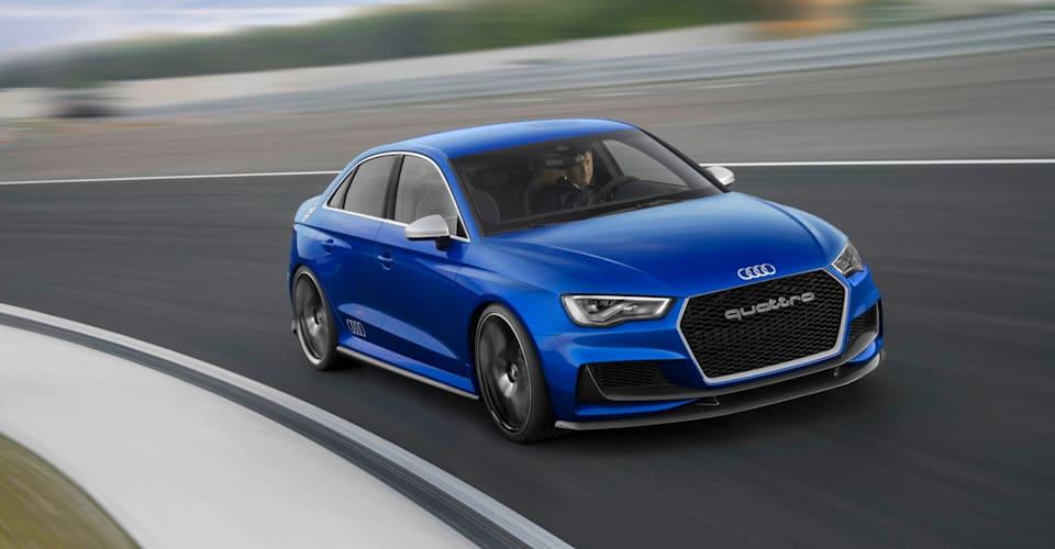 Audi A3 Clubsport Quattro Concept Makes Video Debut Plus Dozens Of