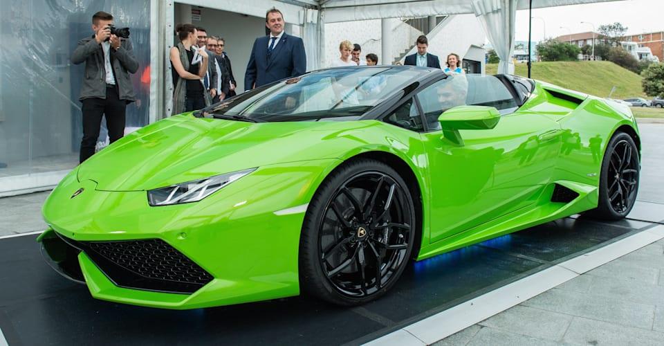 Lamborghini Huracan Lp610 4 Spyder Debuts In Australia Caradvice