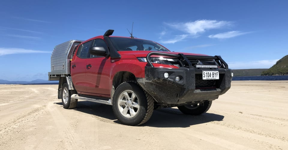 2019 Mitsubishi Triton Bullbar Aeb Tech S Big Change To