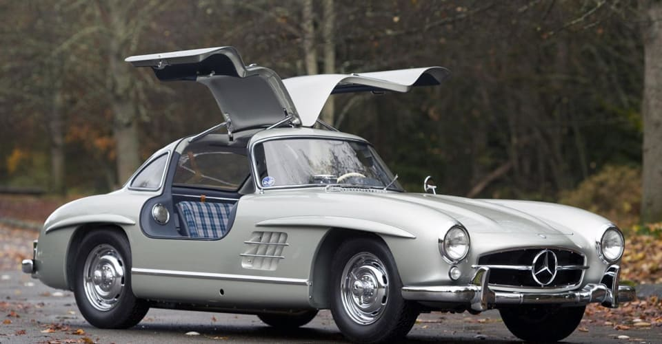 Mercedes Benz Of Scottsdale >> 1955 Mercedes-Benz 300SL Gullwing sells for record $4.62 ...