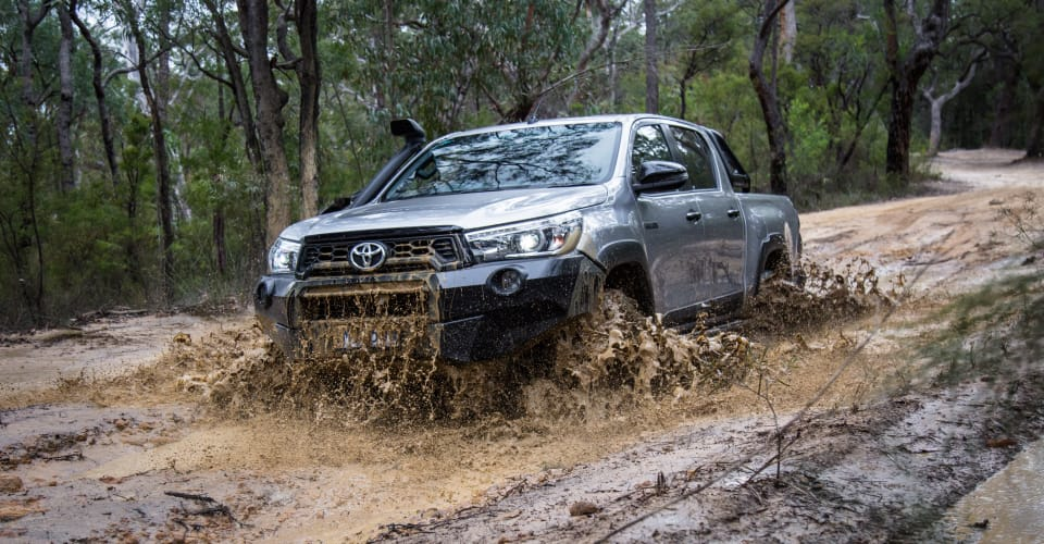 2019 Toyota HiLux Rugged X off-road review | CarAdvice
