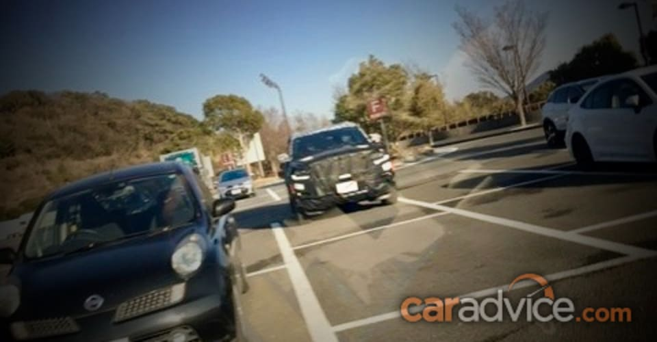 Toyota LandCruiser 300 Series 2022 года шпионят впервые |  CarAdvice