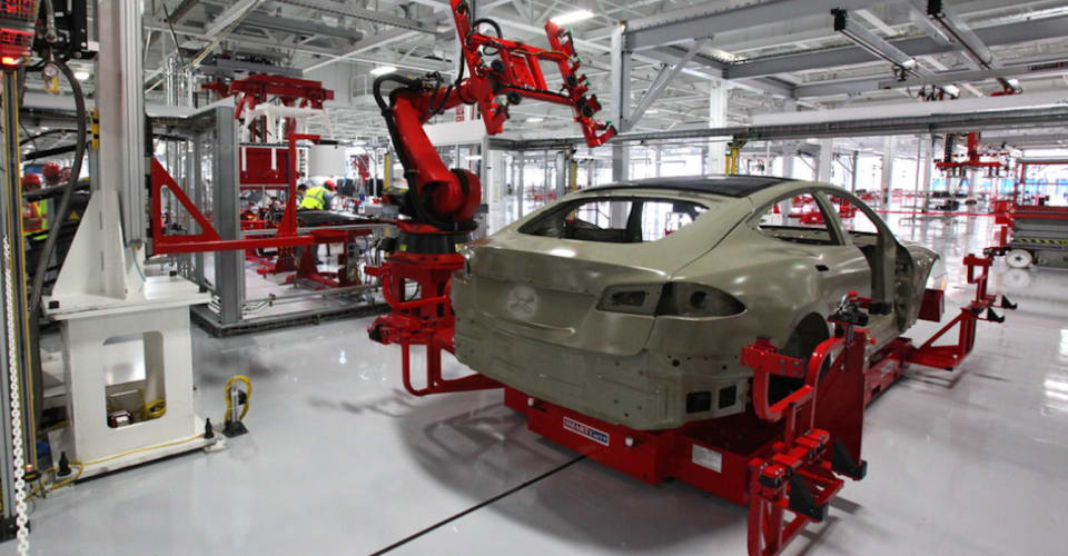 Tesla Model 3 and Model Y production paused in California due to semiconductor shortage