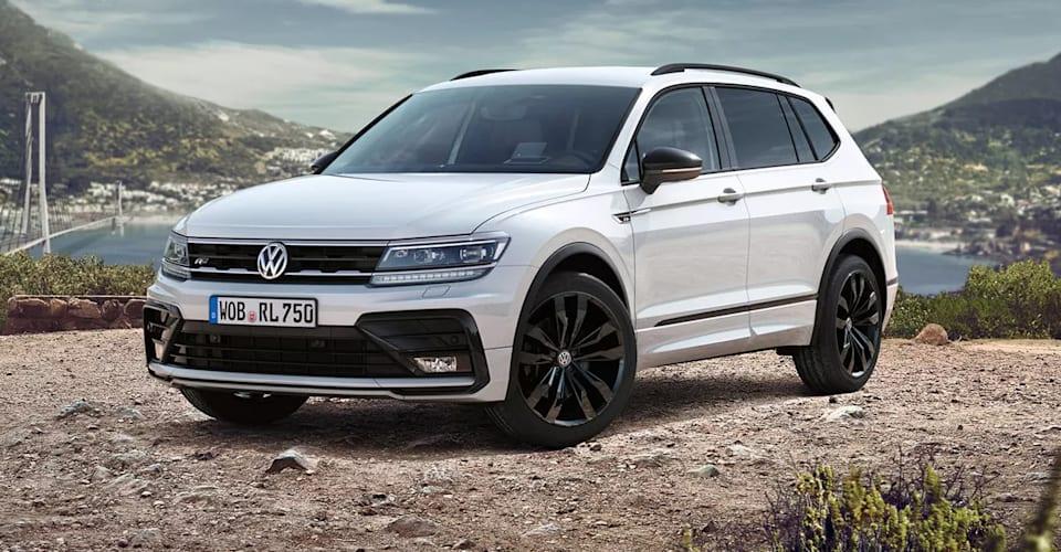 2021 Volkswagen Tiguan Allspace Вольфсбург Цена и характеристики: Семиместный спецвыпуск появится в июне |  CarAdvice