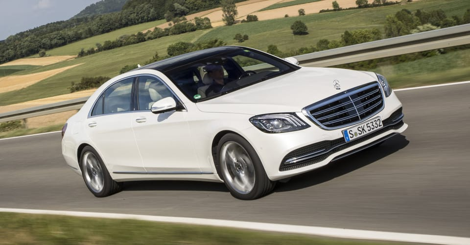 2018 Mercedes Benz S Class Six Cylinder And V12 Models Detailed