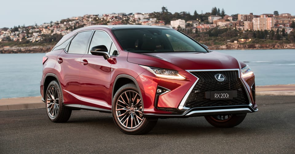 2017 Lexus Rx200t Adds F Sport And Sports Luxury Variants Prices Up