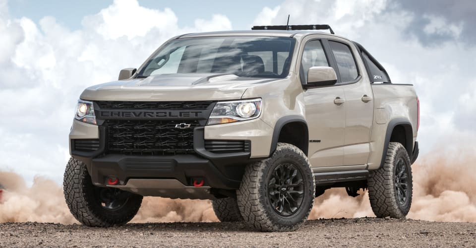 2021 chevrolet colorado zr2 revealed in the us  caradvice