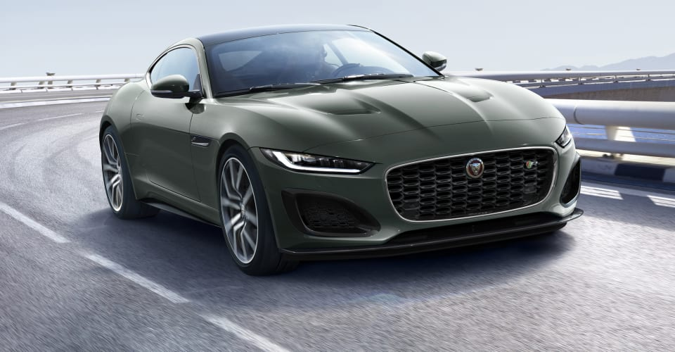 2021 Jaguar F-Type Heritage 60 Edition price and specs ...