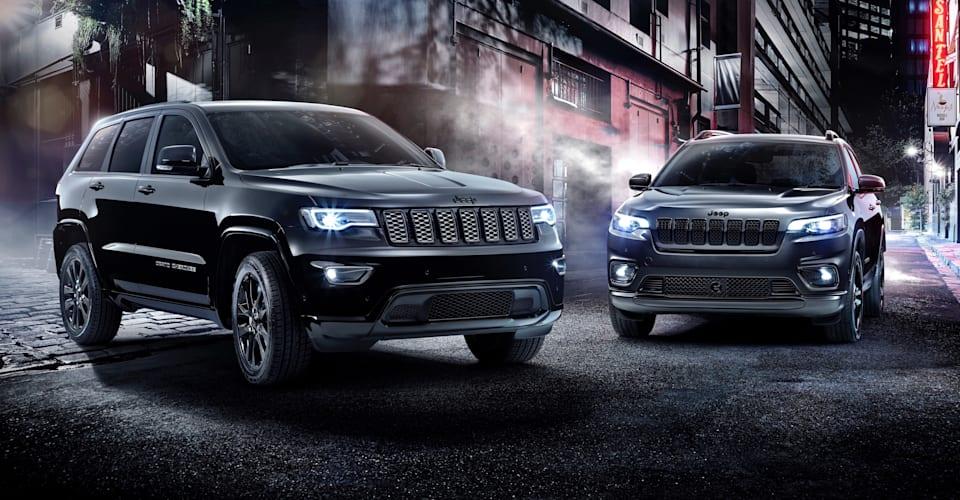 2019 Jeep Cherokee, Grand Cherokee Night Eagle unveiled ...