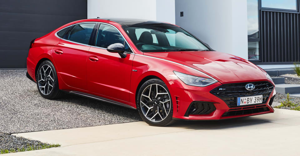 2021 Hyundai Sonata N Line Price And Specs Turbo Mid Size Sedan To Lob Mid Year Priced From 50 990 Caradvice