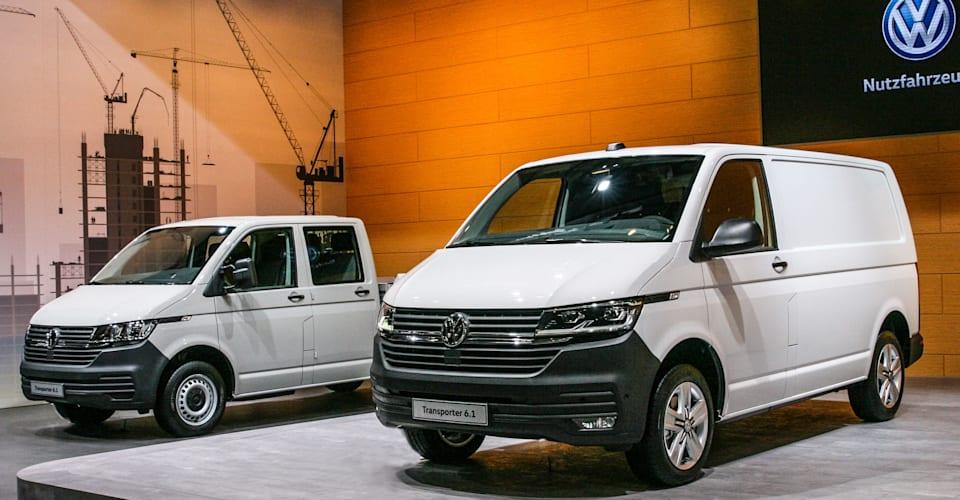 volkswagen transporter debuts caradvice
