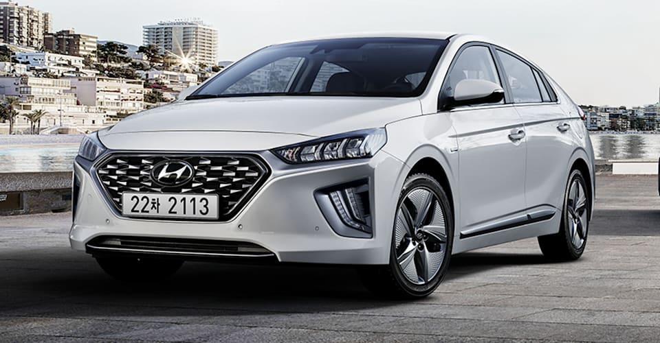 2020 Hyundai Ioniq Hybrid Plug In Hybrid Facelift