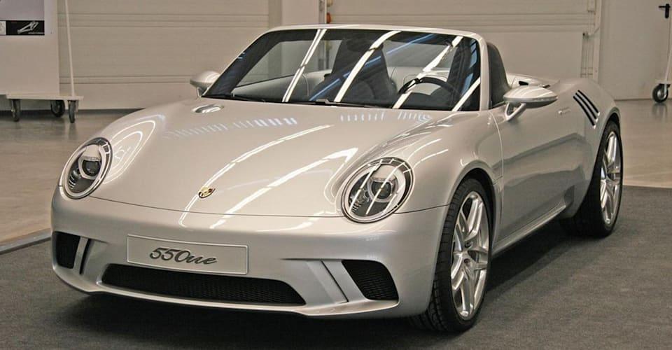 Представлен новый концепт Porsche 550one «Lil 'Bastard» |  CarAdvice