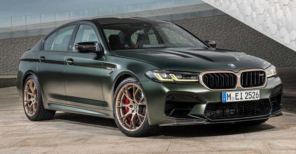 Цена и характеристики BMW M5 CS 2021 года: 20 экземпляров для Австралии в середине 2021 года, 305 900 долларов за поездку    CarAdvice