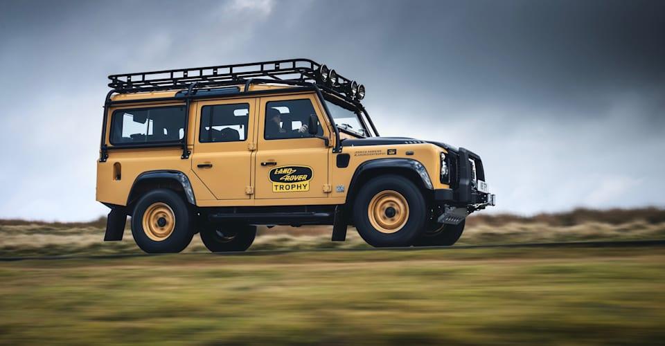 Обнародован приз Land Rover Defender Works V8 2021 года: классический Defender возвращается в качестве героя с двигателем V8 |  CarAdvice