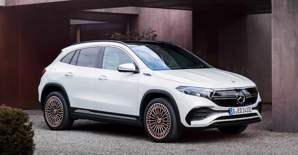 Представлен Mercedes-Benz EQA 2021 года, запуск в Австралии в середине 2021 года |  CarAdvice