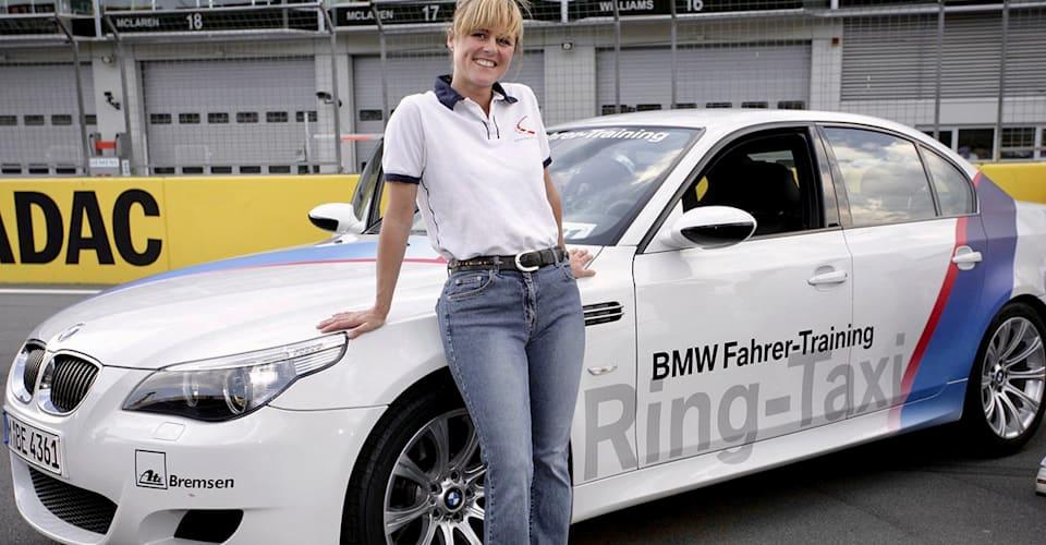 Germany's Nürburgring racing circuit names corner after the late Sabine Schmitz