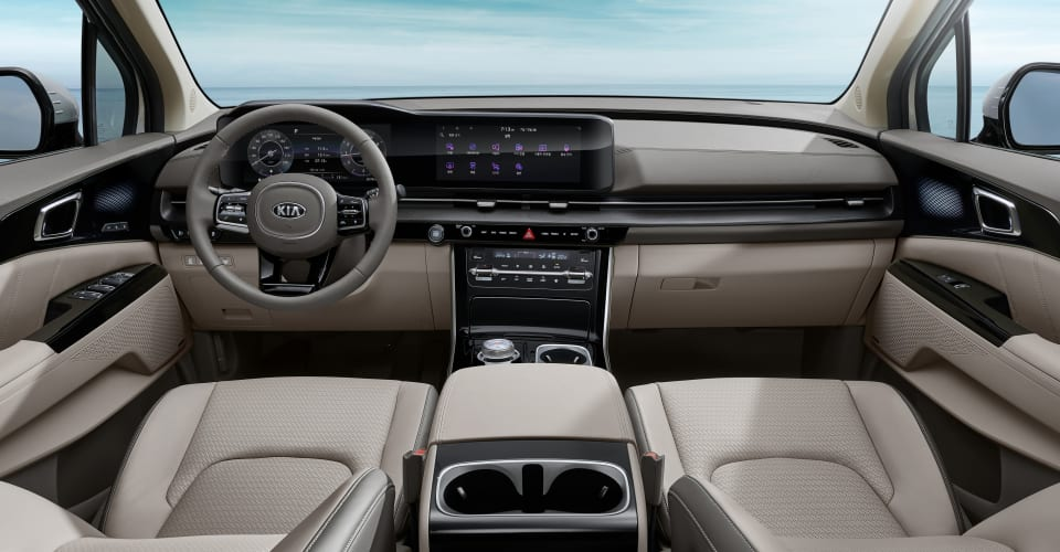 2021 Kia Carnival interior revealed | CarAdvice