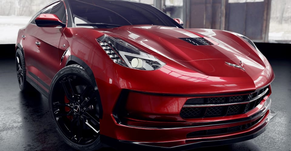 Суббренд Corvette может выпустить электрический внедорожник для борьбы с Mustang Mach-E — отчет |  CarAdvice