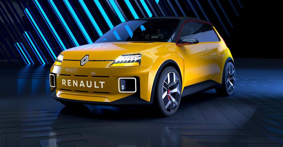 Прототип Renault 5 представлен как электрический городской автомобиль в ретро-стиле |  CarAdvice