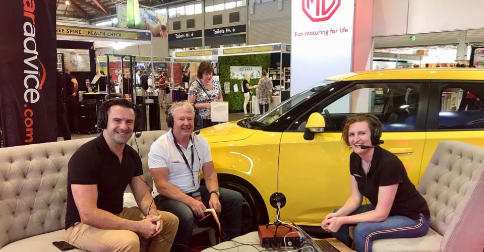 Caradvice Podcast 149 Live From The Mg Stand At The Sydney Royal
