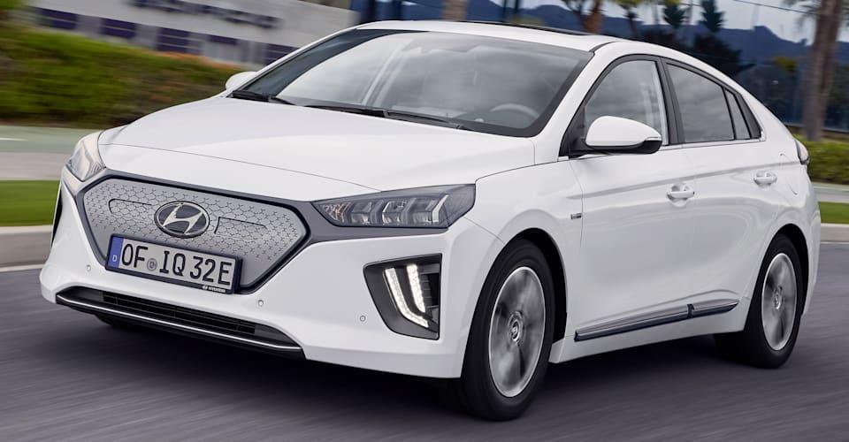 hyundai ioniq electric facelift unveiled caradvice