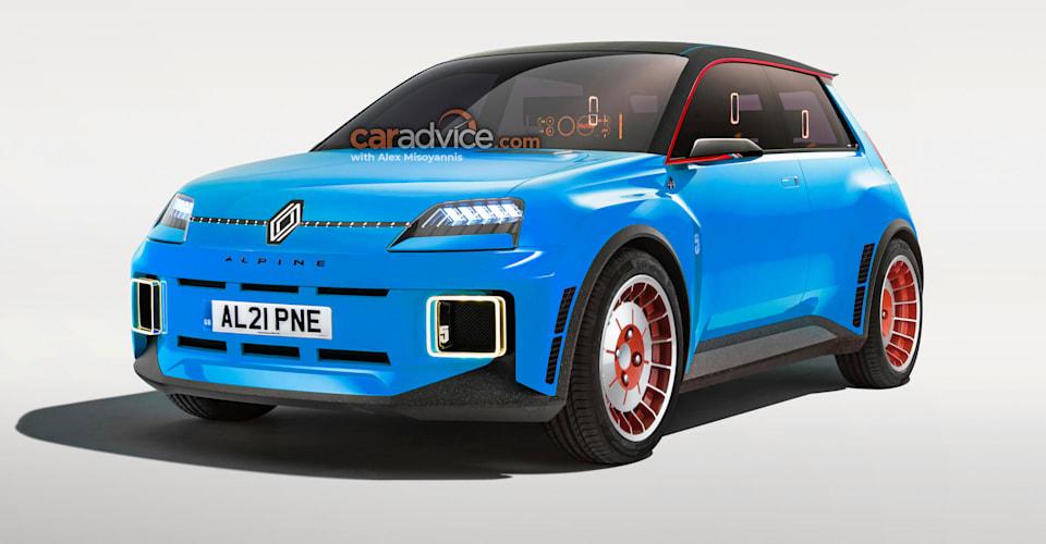 Электрический хот-хэтч Renault 5 Alpine |  CarAdvice