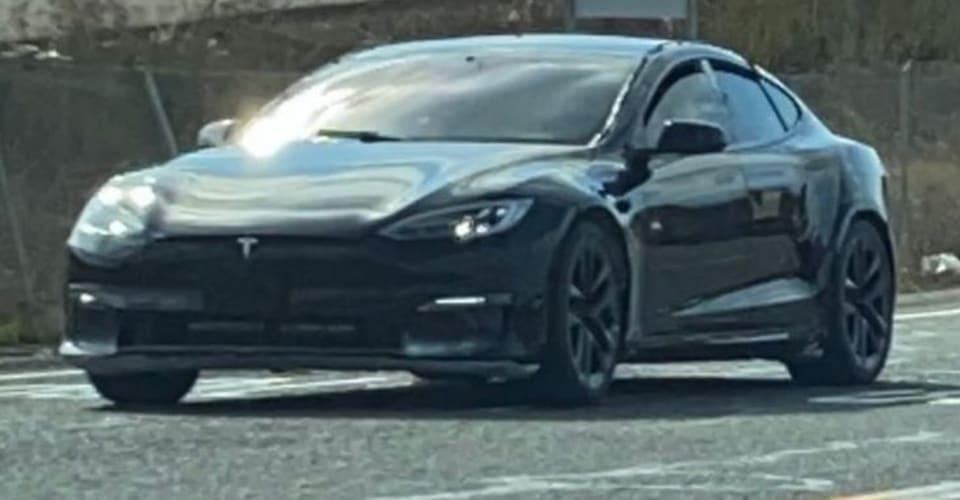 Обновленный Tesla Model S 2021 снова замечен    CarAdvice