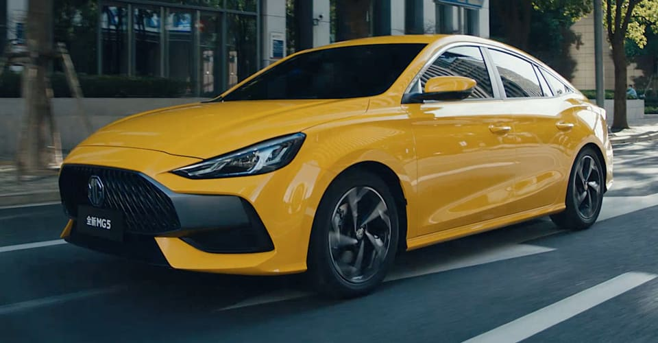 H And H Auto Sales >> 2021 MG 5 sedan shown at Beijing Motor Show | CarAdvice