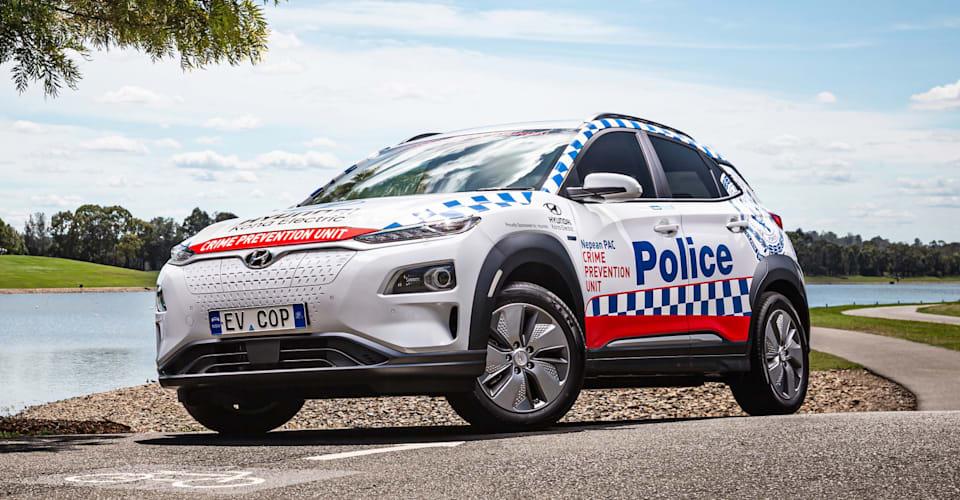 В 2021 году Hyundai Kona Electric пополнится парком связи полиции Нового Южного Уэльса |  CarAdvice