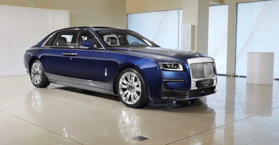 2021 Rolls-Royce Ghost Extended: $740,000 Rolls makes its ...