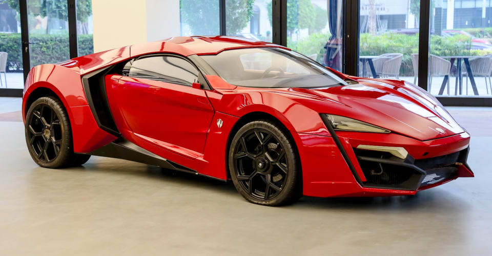W Motors Lykan HyperSport stunt car from Fast & Furious 7 listed for sale