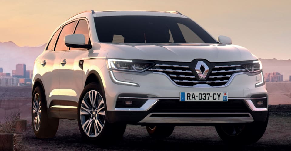 2020 Renault Koleos facelift unveiled | CarAdvice