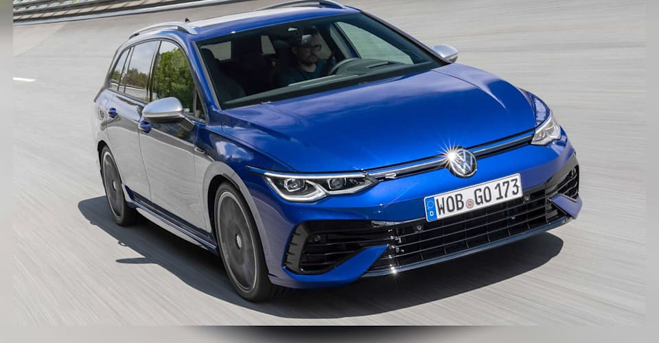 2022 Volkswagen Golf R wagon revealed, Australian launch due early 2022   CarAdvice