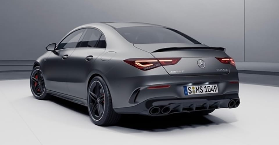 Latest Tech News: 2020 Mercedes-AMG CLA45 S leaked - CarAdvice thumbnail