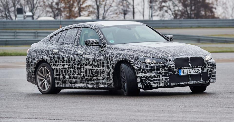 BMW i4 2021 года дразнят |  CarAdvice