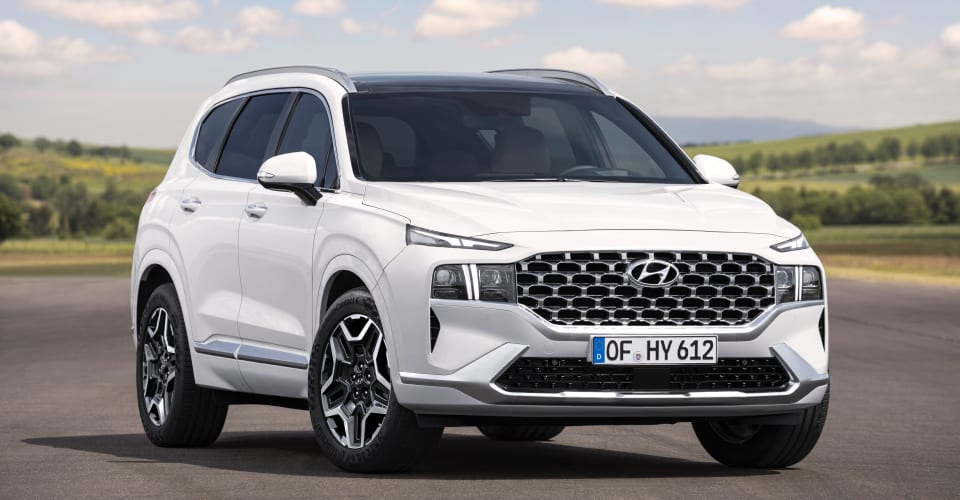 2021 Hyundai Santa Fe Hybrid confirmed for Australia ...
