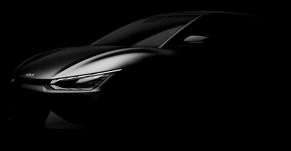Электрокар нового поколения Kia EV6 дразнил |  CarAdvice