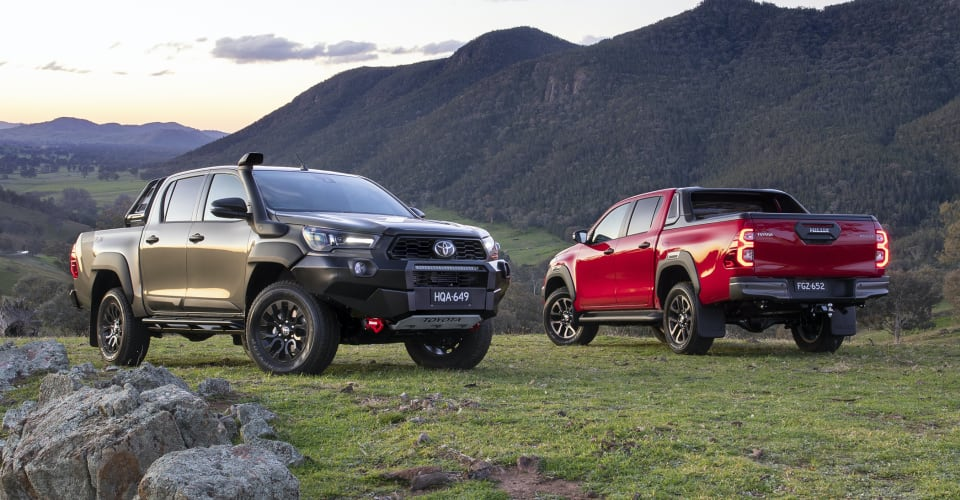2021 Toyota HiLux Rugged-X and Rogue unveiled, rest-of-range prices confirmed | CarAdvice