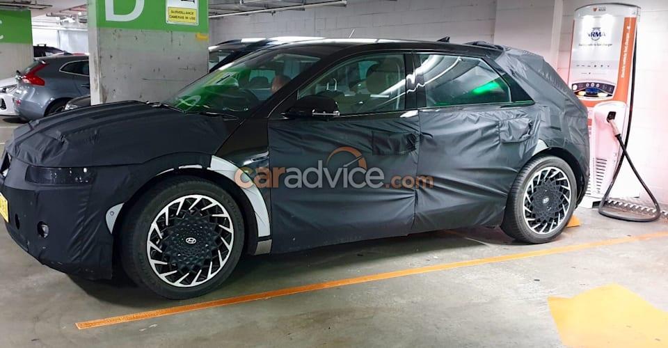 Hyundai Ioniq 5 2021 года шпионит за тестами в Сиднее    CarAdvice