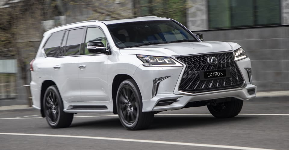 Lexus Lx570 S Arrives From 168 089 Caradvice