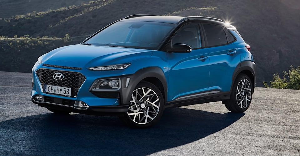 Hyundai Ioniq Electric >> 2019 Hyundai Kona Hybrid revealed, 'under review' for Australia   CarAdvice