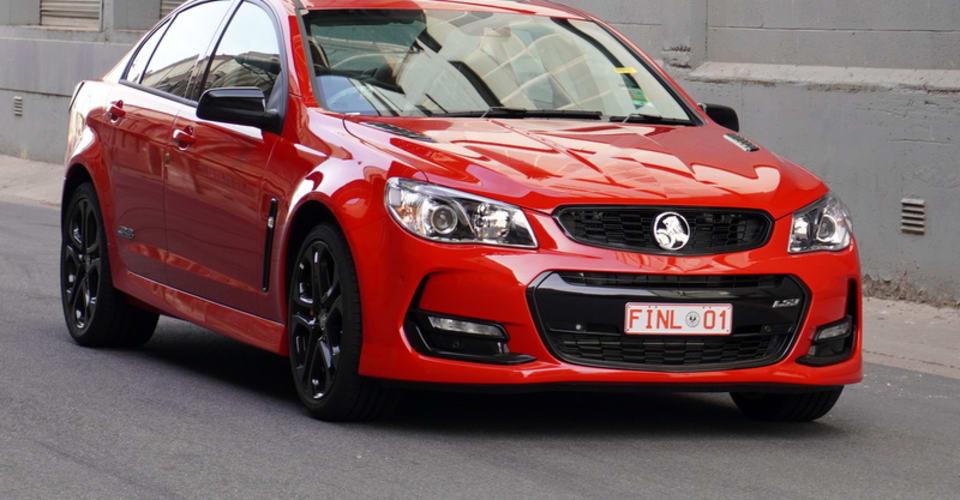 Последний австралийский Holden будет продан с аукциона |  CarAdvice