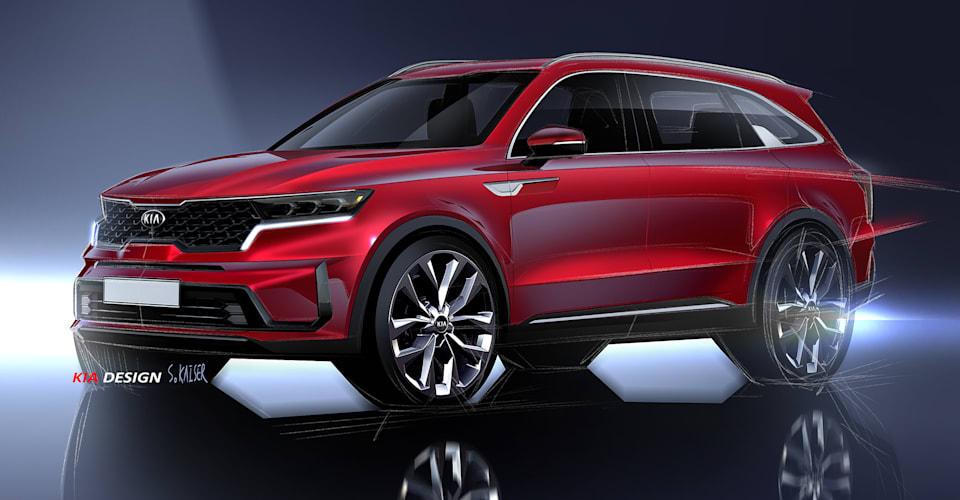 2021 Kia Sorento previewed, Geneva debut confirmed ...