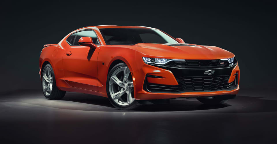 2019 Chevrolet Camaro 2SS coming to Australia with manual ...