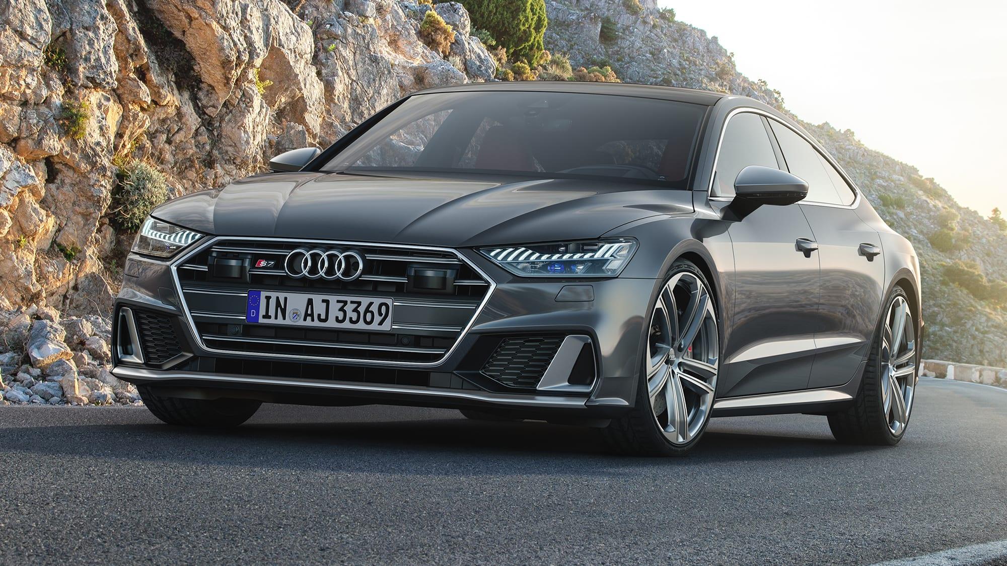 2020 Audi S6, S7 revealed