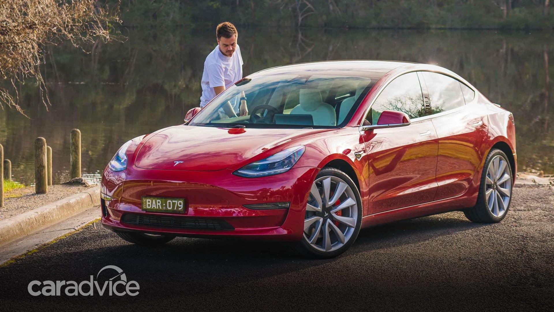 Tesla Model 3 unveiled, Australian debut due 2018 | CarAdvice