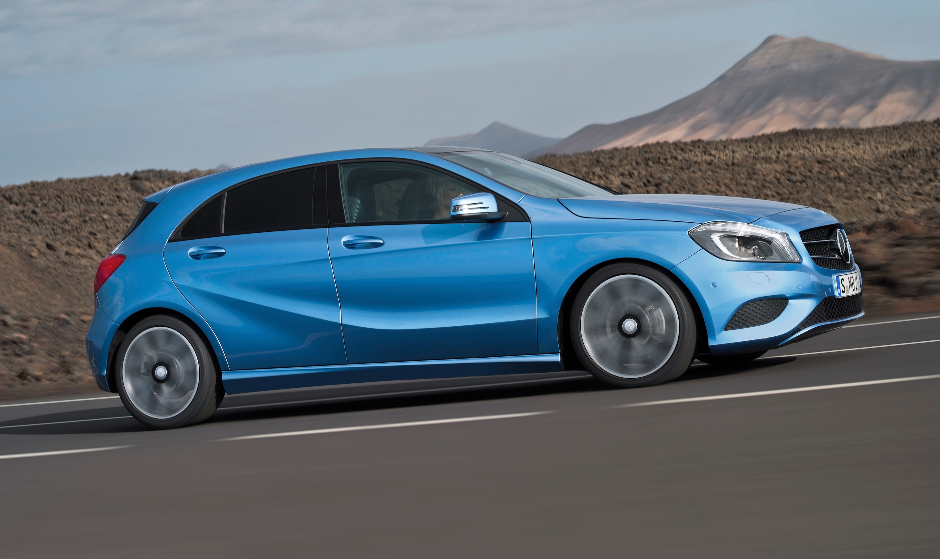 Mercedes benz: smaller cars below a class under consideration